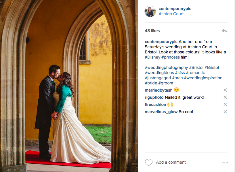 wedding photography instagram