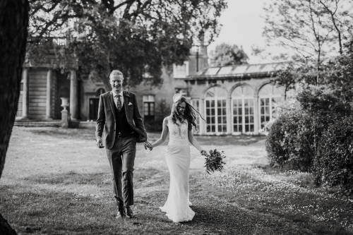 Blaise Castle Wedding, wedding photographer in bristol at outdoor ceremony at Blaise Castle Museum